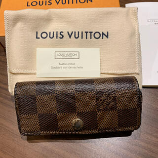 LOUIS VUITTON - ルイヴィトン ダミエ柄 4連 キーケース 正規品