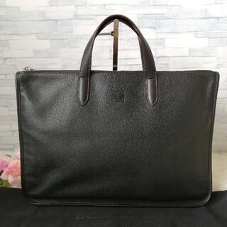 LOEWE - 正規品✨ 美品✨ ロエベ ビジネスバッグ ブリーフケース 黒 433
