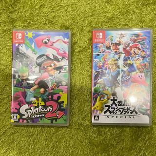 Nintendo Switch - 大乱闘スマッシュブラザーズ SPECIAL Switch スプラトゥーン2