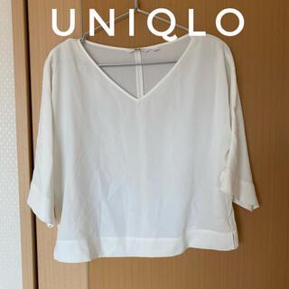 UNIQLO - ユニクロ オフィスカジュアル Vネックトップス