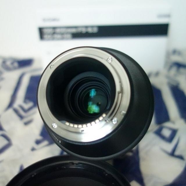 SIGMA(シグマ)のシグマ100-400mm F5-6.3 DG DN OS ソニーEマウント用 スマホ/家電/カメラのカメラ(レンズ(ズーム))の商品写真