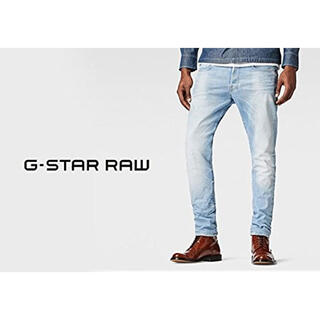 G-STAR RAW - G-STAR  RAW テーパードストレッチデニム
