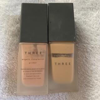 THREE - three ファンデーション+プライマーセット 残量多