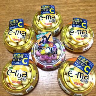 ユーハミカクトウ(UHA味覚糖)のUHA味覚糖 e-maのど飴         フルーツチェンジ&VCレモン(菓子/デザート)