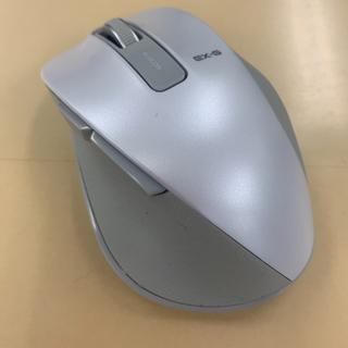 エレコム(ELECOM)のエレコム マウス ワイヤレス M 握りの極み ホワイト M-XGM10DBWH(PC周辺機器)
