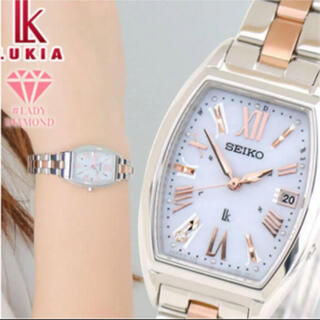 SEIKO - 腕時計 レディース LUKIA ルキア ソーラー SSVW117