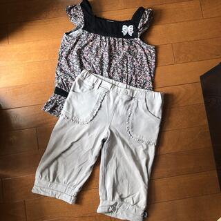 クミキョク(kumikyoku(組曲))の組曲 セットアップ 120cm(Tシャツ/カットソー)