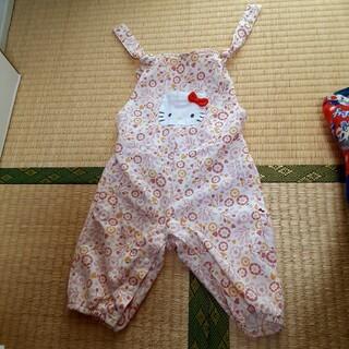 シマムラ(しまむら)のキティちゃんロンパース★80cm(ロンパース)