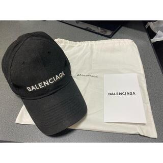 Balenciaga - BALENCIAGA バレンシアガ キャップ 帽子 ブラック 黒