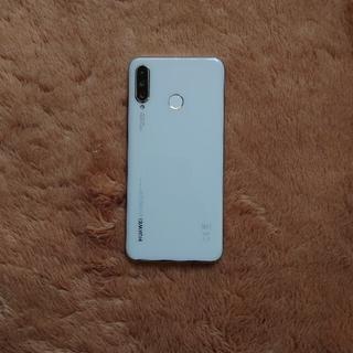 HUAWEI - Huawei P30lite Perl White simフリー 64GB