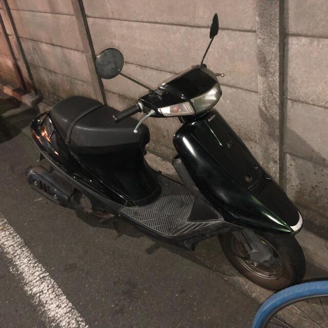 スズキ(スズキ)のアドレスv100 不動(書類有り) 自動車/バイクのバイク(車体)の商品写真