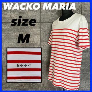 WACKO MARIA - WACKO MARIA ワコマリア 半袖 Tシャツ メンズ サイズM ボーダー柄
