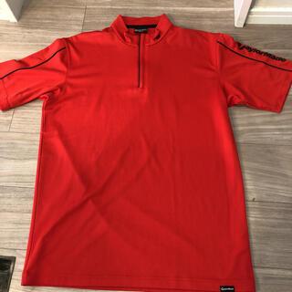 テーラーメイド(TaylorMade)の未使用自宅保管テーラーメイド速乾赤の半袖シャツM(ウエア)