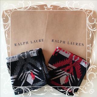 ラルフローレン(Ralph Lauren)のラルフローレン ミニタオル ハンカチ 2枚セット ①(ハンカチ)