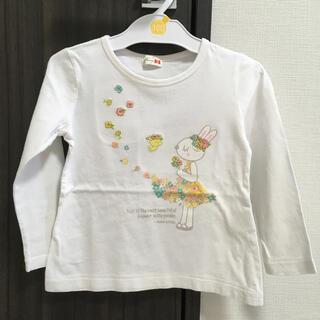 ニットプランナー(KP)のkp ミミちゃん付きロングTシャツ(Tシャツ/カットソー)