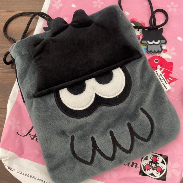 サンリオ(サンリオ)のSR×SPダイカット巾着 XO エンタメ/ホビーのおもちゃ/ぬいぐるみ(キャラクターグッズ)の商品写真