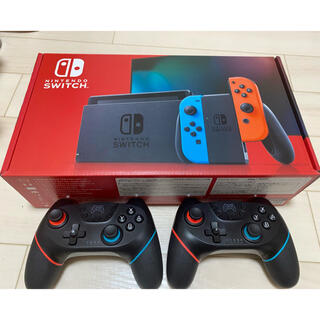 Nintendo Switch - Nintendo Switch ニンテンドースイッチ 本体 ネオンブルー 中古