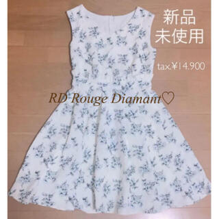 Noela - 6/15まで値下げ【新品】RD Rouge Diamant♡ノエラ♡花柄♡ワンピ
