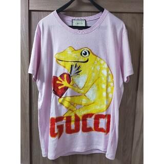 グッチ(Gucci)の☆新品未使用☆レア!! GUCCI フロッグ ハート Tシャツ Mサイズ(Tシャツ/カットソー(半袖/袖なし))