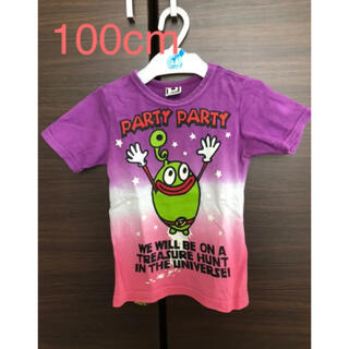 PARTYPARTY - キッズ★パーティーパーティー★ピンク★紫★Tシャツ★100cm★