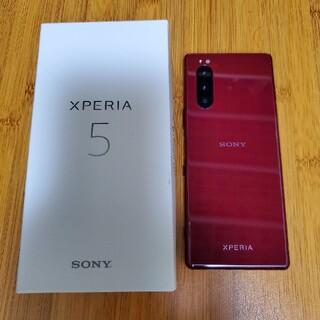 Xperia - 【超美品】SONY Xperia 5 J9260 レッド