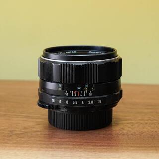 ペンタックス(PENTAX)の【光学特上品】スーパーマルチコーテッドタクマー 55mm f1.8 単焦点(レンズ(単焦点))