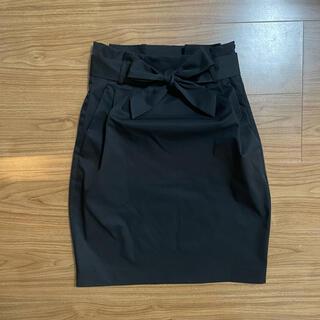 エイチアンドエム(H&M)のH&M ハイウエストスカート(ひざ丈スカート)