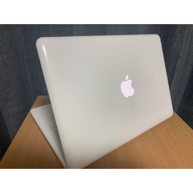Apple(アップル)のアイス様専用966MacBook13白SSD Office Win10付 スマホ/家電/カメラのPC/タブレット(ノートPC)の商品写真