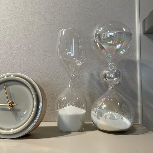 Francfranc(フランフラン)のフランフラン 砂時計 オブジェ インテリア インテリア/住まい/日用品のインテリア小物(置物)の商品写真