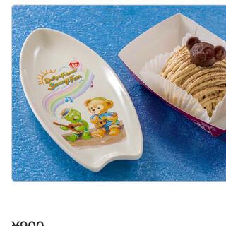 ダッフィー(ダッフィー)のサニーファン スーベニアプレート お皿 陶器皿 オブジェ プレート サーフボード(キャラクターグッズ)