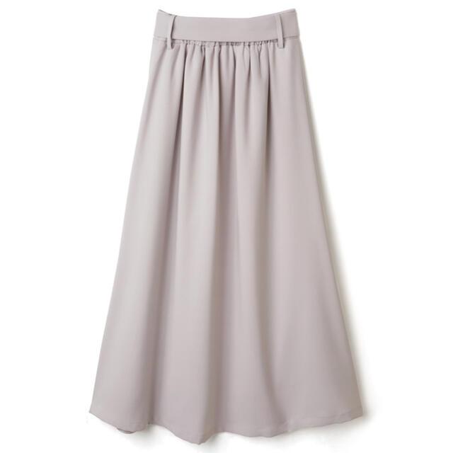 GRL(グレイル)の新品 GRL シフォンプリーツ切り替えロングスカート レディースのスカート(ロングスカート)の商品写真