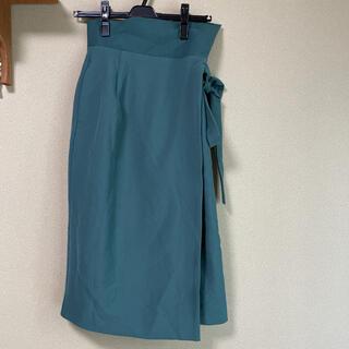 アーバンリサーチ(URBAN RESEARCH)のアーバンリサーチ 巻きスカート(ひざ丈スカート)