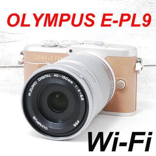 オリンパス(OLYMPUS)の❤️シャッター回数1153枚❤️Wi-Fi搭載❤️OLYMPUS E-PL9(ミラーレス一眼)