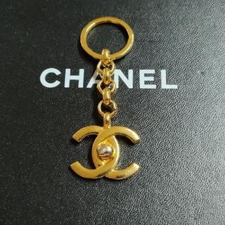 シャネル(CHANEL)のCHANEL キーホルダー ココマーク ターンロック ヴィンテージ(キーホルダー)