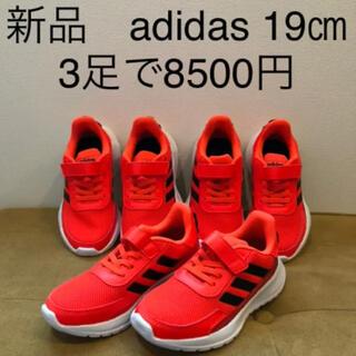 adidas - 【新品】adidas スニーカー  19㎝ 3足セット