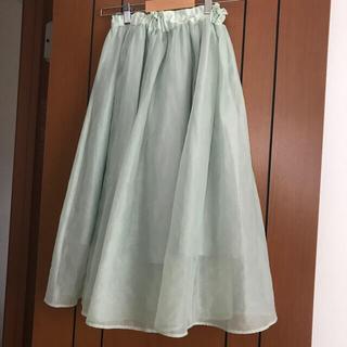 ジーユー(GU)のGUのシフォンスカート♡(スカート)