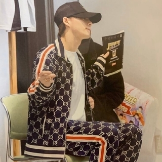 Gucci - 【正規品】GUCCIテクニカルコットンジャージセットアップ定価32.4万円