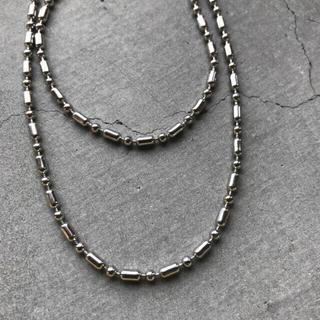 トゥデイフル(TODAYFUL)のsilver chain necklace(ネックレス)