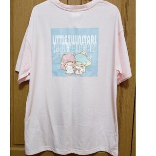 サンリオ - サンリオ キキララ リトルツインスターズ ♡ バックプリント Tシャツ M