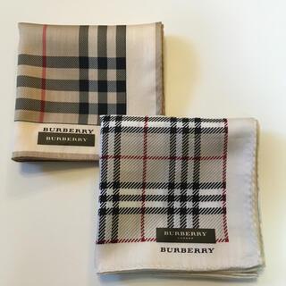 BURBERRY - 新品 バーバリーハンカチ2枚