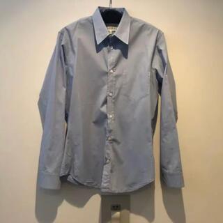 マルタンマルジェラ(Maison Martin Margiela)のMaisonMargiela 水色シャツ 38サイズ(シャツ)