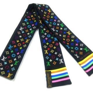 ルイヴィトン(LOUIS VUITTON)のルイヴィトン スカーフ美品  M71992(バンダナ/スカーフ)