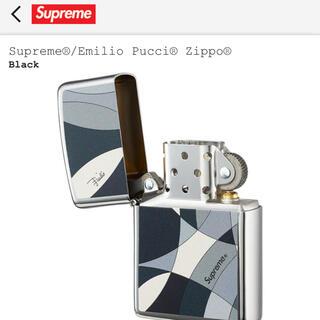 シュプリーム(Supreme)の新品supreme×Emilio Pucci zippo 正規品 送料無料(タバコグッズ)