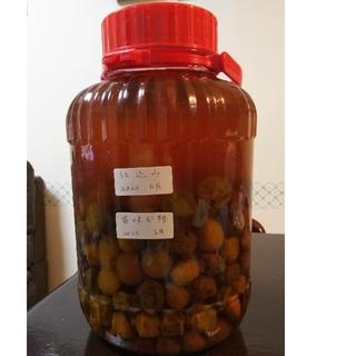 梅の実と梅ジュース(750ml)(フルーツ)