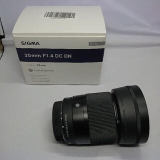 SIGMA - 極上品 SIGMA30mm F1.4 DC DN マイクロフォーサーズ