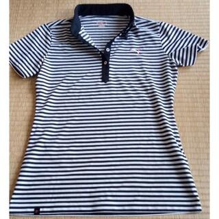 プーマ(PUMA)のPUMA レディース ボーダー ポロシャツ (ポロシャツ)