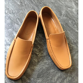 トゥモローランド(TOMORROWLAND)の牛革ローファー GALERIE VIE 37サイズ(ローファー/革靴)