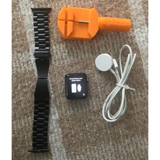 アップルウォッチ(Apple Watch)のApple Watch series2 42mm スペースグレイ(腕時計(デジタル))