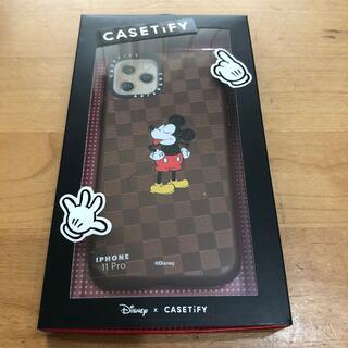 ディズニー(Disney)のCASETiFY×Disney iPhone11proケース新品 ミッキーマウス(iPhoneケース)