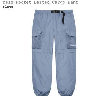 Supreme - Supreme Mesh Pocket Belted Cargo Pant XL